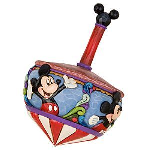 Spinning Through the Years Mickey Mouse Spin Top by Jim Shore