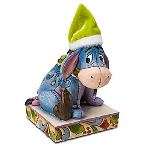 Santas Little Helper Eeyore Figurine by Jim Shore