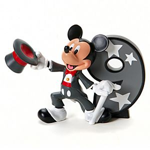 Number 9 Mickey Mouse Figurine