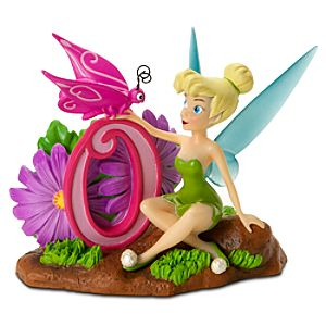 Number 0 Tinker Bell Figurine