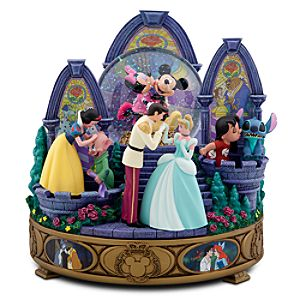 Memorable Disney Kisses Snowglobe