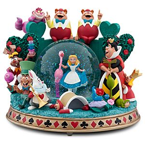 Alice in Wonderland Snowglobe