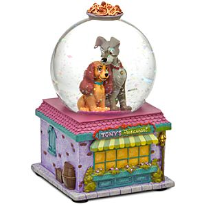 Mini Lady and the Tramp Snowglobe