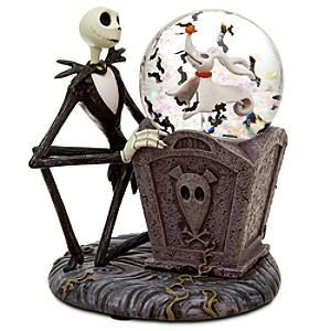 Mini Jack Skellington Snowglobe