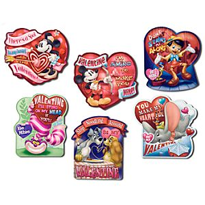 Mickey Mouse and Friends Valentines Day Cards -- 24-Pc.
