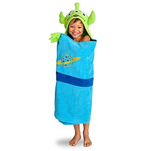 Hooded Toy Story Alien Towel