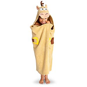 Hooded Toy Story Bullseye Towel