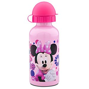 Minnie Mouse Aluminum Water Bottle -- Small