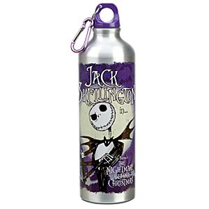 Jack Skellington Aluminum Water Bottle