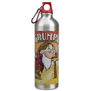 Grumpy Aluminum Water Bottle
