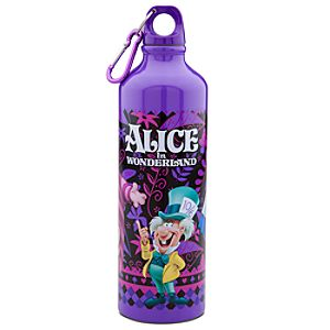 Alice in Wonderland Aluminum Water Bottle