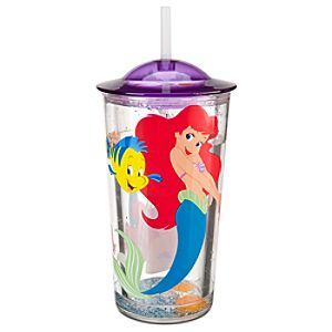 Ariel Pool Tumbler with Straw
