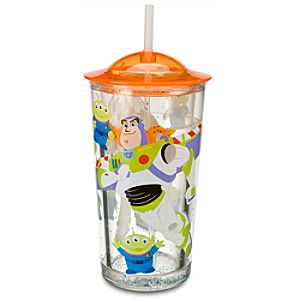 Buzz Lightyear Pool Tumbler with Straw