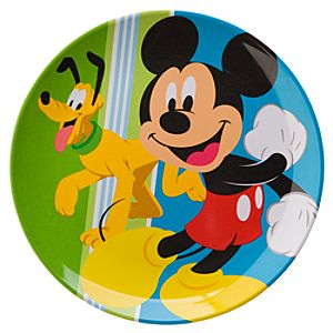Small Mickey Mouse Plate