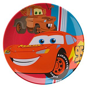 Small Disney Cars Plate