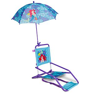 Ariel Beach Chair and Umbrella
