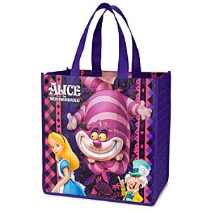 Reusable Alice in Wonderland Tote