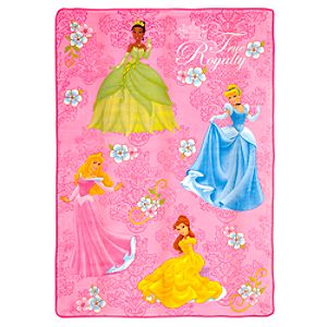 ''Your Royal Grace'' Disney Princess Plush Blanket