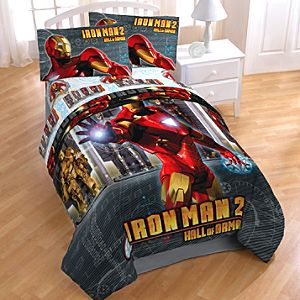 Hall of Armor Iron Man 2 Comforter -- Twin