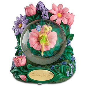 Personalized Tinker Bell Snowglobe