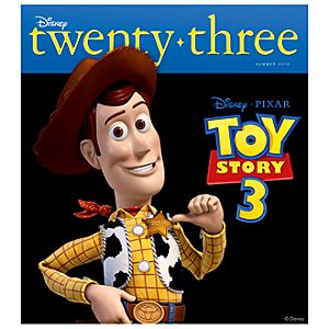 D23 Disney twenty-three Summer 2010 Magazine -- Sheriff Woody Cover