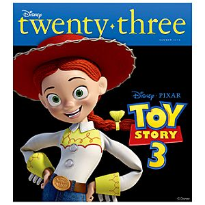 D23 Disney twenty-three Summer 2010 Magazine -- Jessie Cover