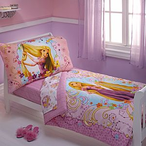 Tangled Bedding Set for Toddlers -- 4-Pc.