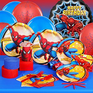 Spider-Man Party Essentials Set for 16 Guests