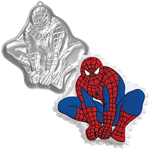 Spider-Man Cake Pan