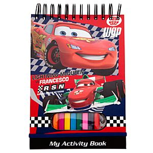 Cars 2 Art Activity Book