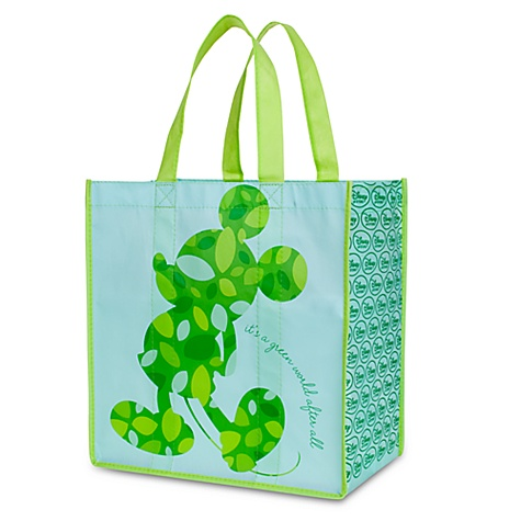 Earth Day Mickey Mouse Tote Bag