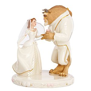 Wedding Dreams Beauty and the Beast Cake Topper by Lenox