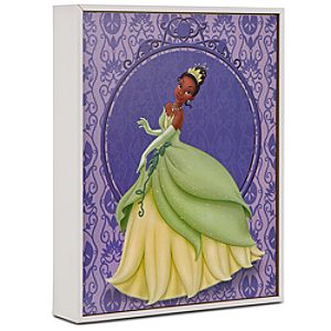 ''A Wish From the Heart'' Princess Tiana Lithograph