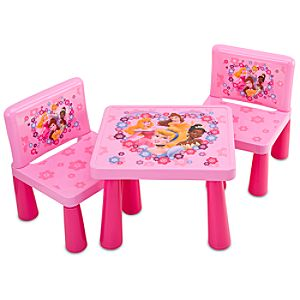 Disney Princess Table & Chair Set -- 3-Pc.