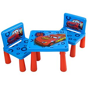 Disney Cars Table and Chair Set -- 3-Pc.