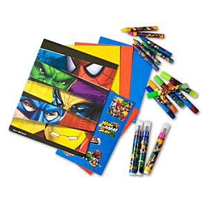 Deluxe Marvel Heroes Art Set