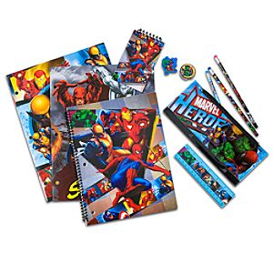 Marvel Heroes School Supplies Set -- 11-Pc.