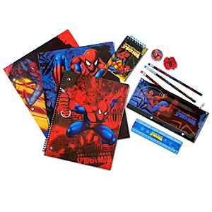 Spider-Man School Supplies Set -- 11-Pc.