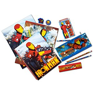 Iron Man School Supplies Set -- 11-Pc.