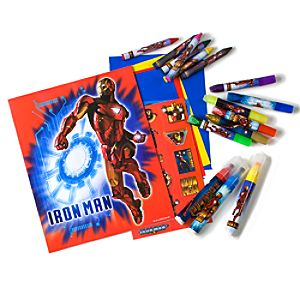 Deluxe Iron Man 2 Art Set