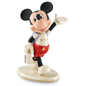 Personalized Mouseketeer Days Mickey Mouse Figurine by Lenox