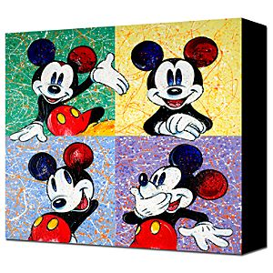 Four Square Mickey Mouse  Giclée