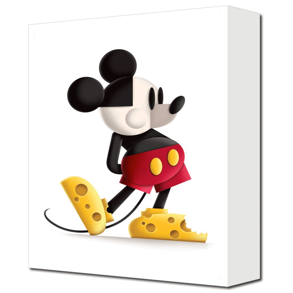 ''Say Cheese'' Mickey Mouse Giclée