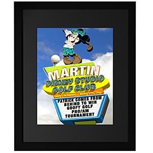 Personalized Mickey Golf FantaSign®