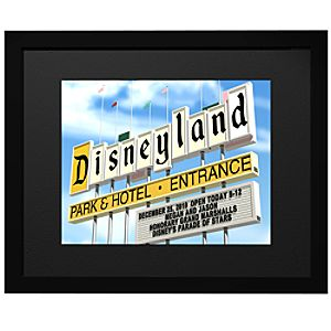 Personalized Disneyland Park Entrance Sign FantaSign®