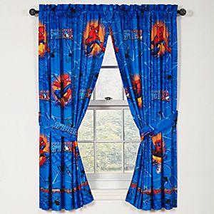 Burst Spider-Man Curtain Set