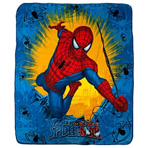Burst Spider-Man Fleece Throw Blanket