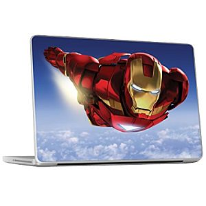 Flying Solo Iron Man 2 Laptop Skin
