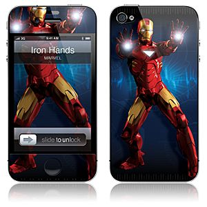 ''Iron Hands'' Iron Man 2 iPhone 4 Skin