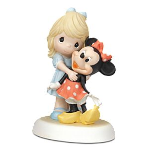 Disney Girl and Minnie Mouse Figurine by Precious Moments